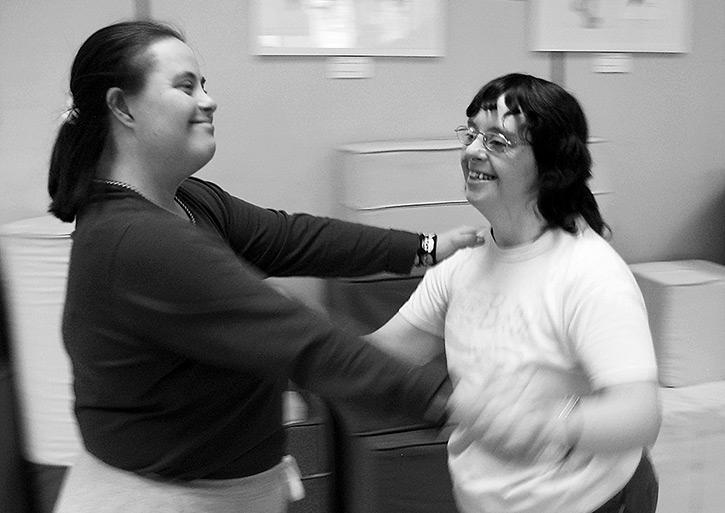 Clase de Danza: Sonia y Ana